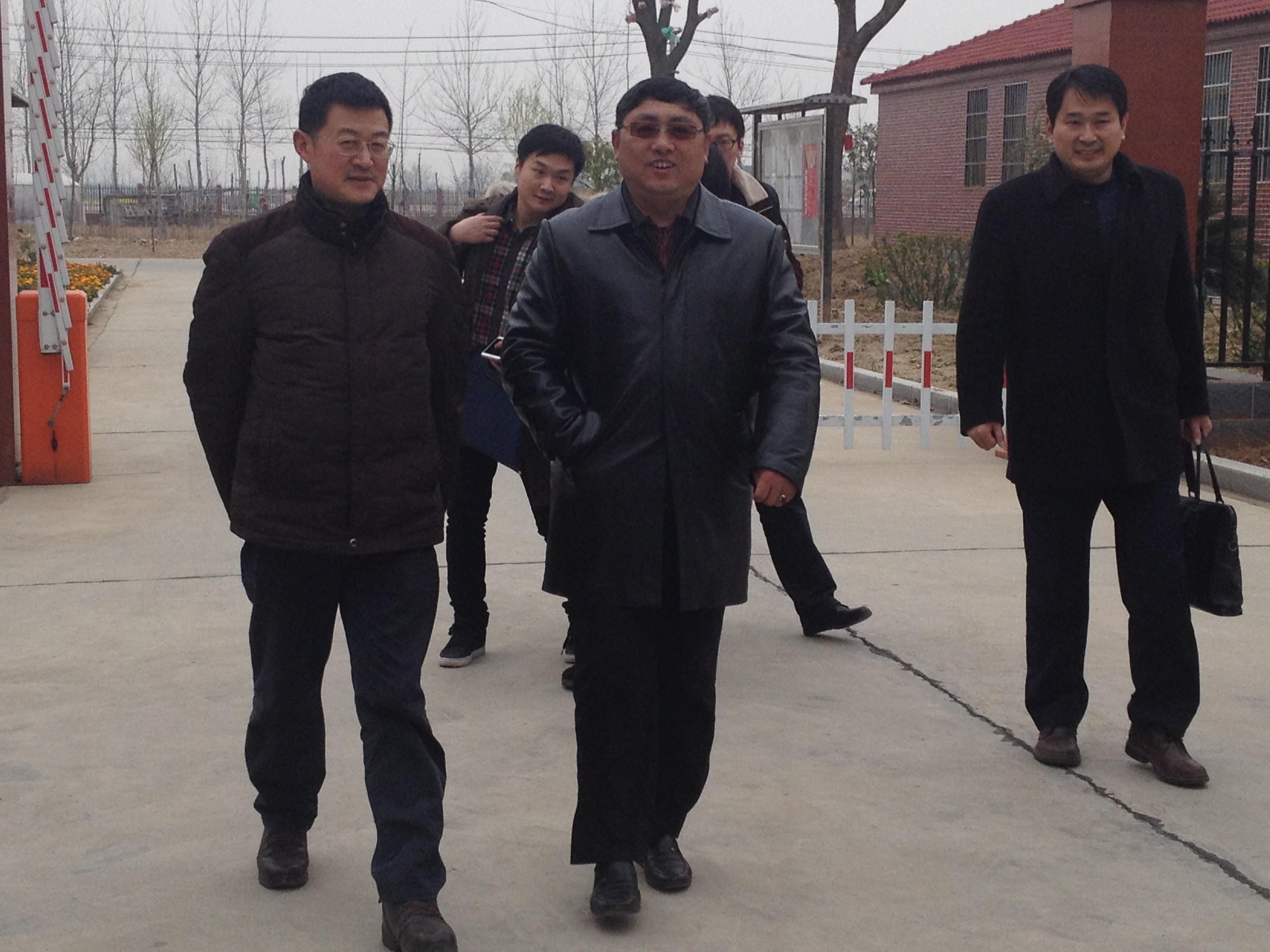 长江学者史铁林教授一行到陕西vf大果网机械公司开展产学研合作